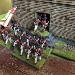 6 A British battalion attacks the church, only to be thrown back shortly afterwards